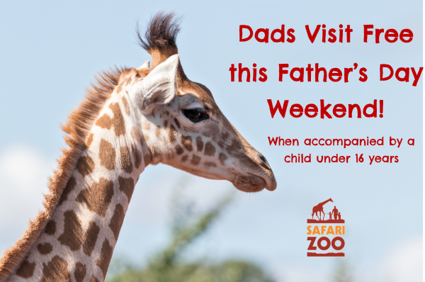 Dad's Visit Free this Father's Day Weekend!