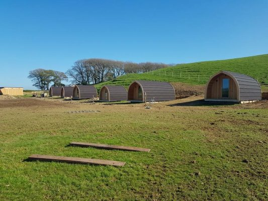 High Haume Glamping Luxury Camping Pods 3