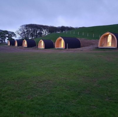High Haume Glamping Luxury Camping Pods 4