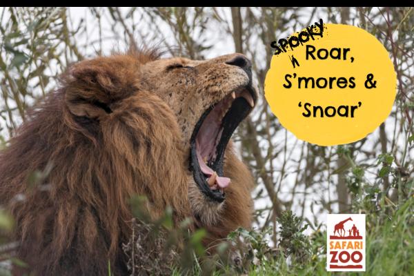 Roar, S'mores and Spooky 'Snoar'!