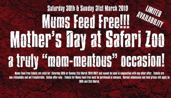 Mums Feed Free this Mother's Day 2