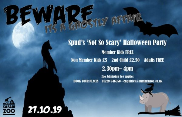 """Spud's """"Not-so-spooky"""" Halloween Party"""