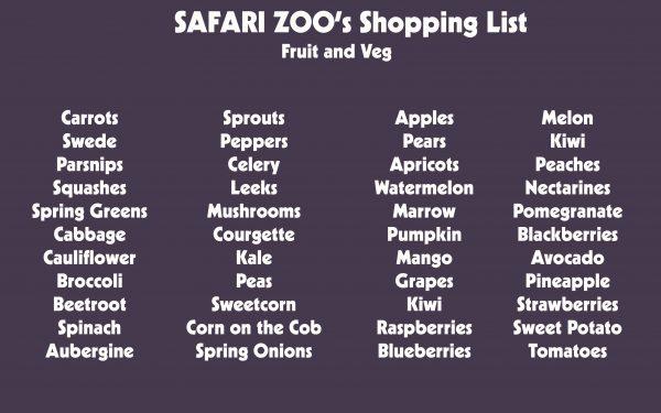 Sponsor an Animal Meal 2